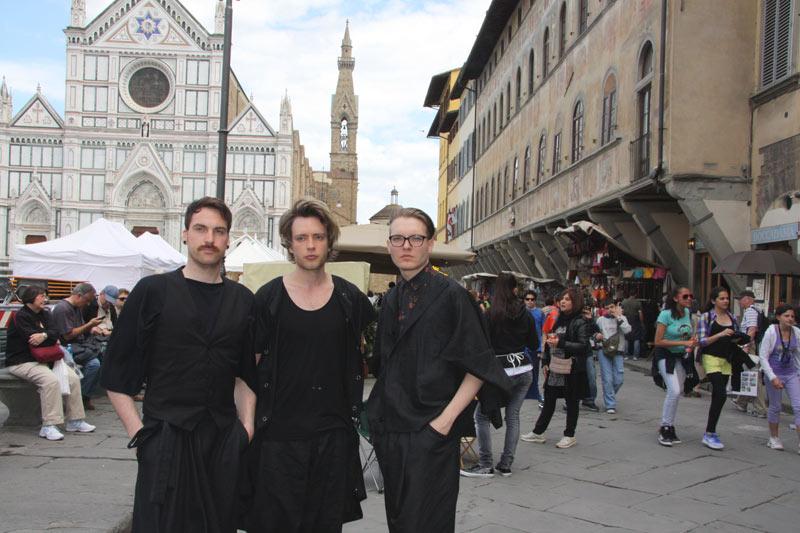 2. the band in Santa Croce